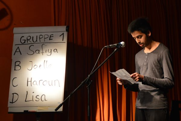 Poetry Slam Schüler